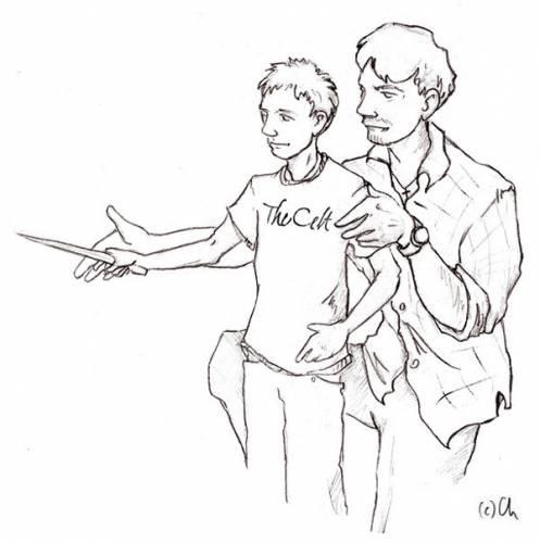Рисунки от старшего к младшему
